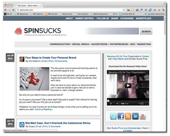 SpinSucks website