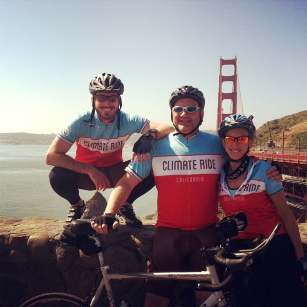 Team B the Change at Golden Gate Bridge